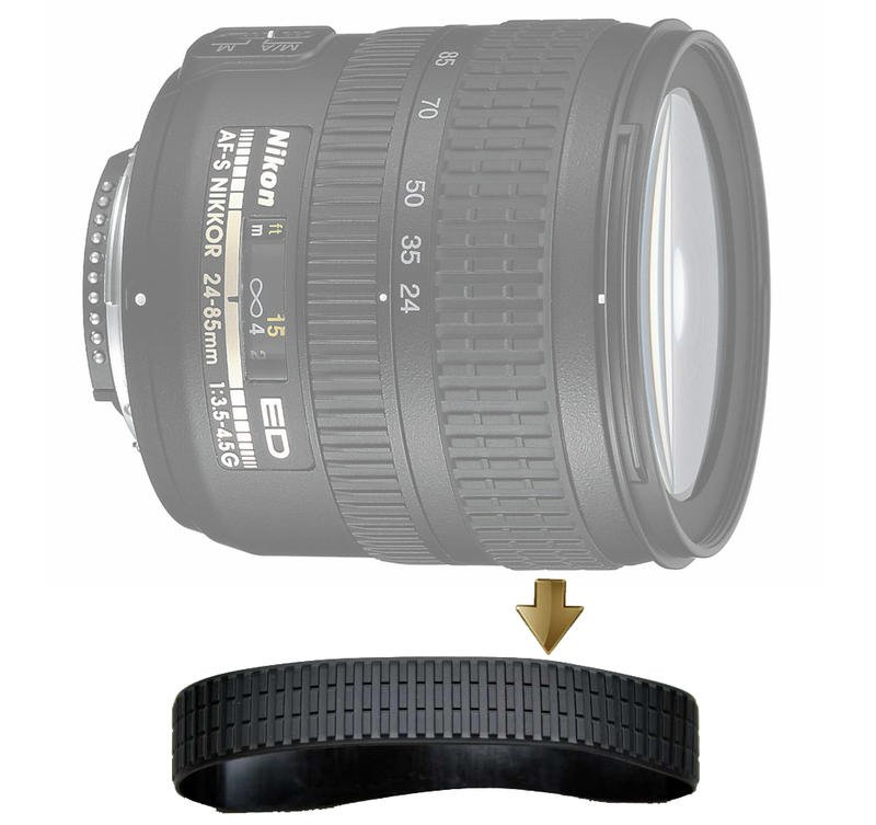 Focus Rubber Ring for  AF-S Nikkor 24-85mm F3.5-4.5G 對焦環