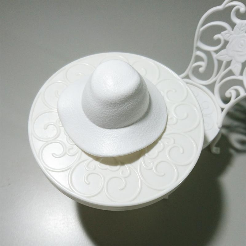 芭比娃娃 首飾配件 珍藏版 白色帽子