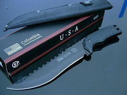 #萬粘大樓#Columbia 消光黑 叢林刀 登山刀