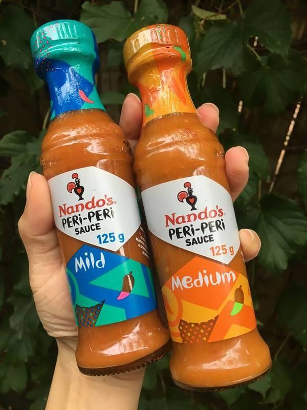 ★ 知名烤雞連鎖店 Nando's PERI- PERI 辣醬 125g ★ 四種辣度可選