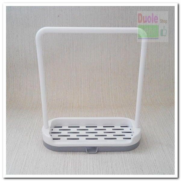 多功能抹布架肥皂架/肥皂架接水盤/瀝水抹布架