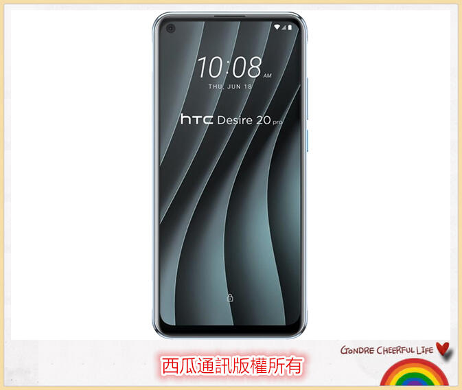 【西瓜通訊】高雄有店面 全新未拆HTC Desire 20 pro 6.5吋/6+128G/4800萬畫素