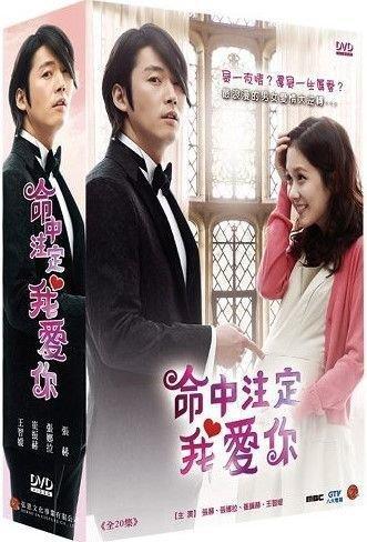 韓劇DVD 命中注定我愛你 弘恩台灣正版