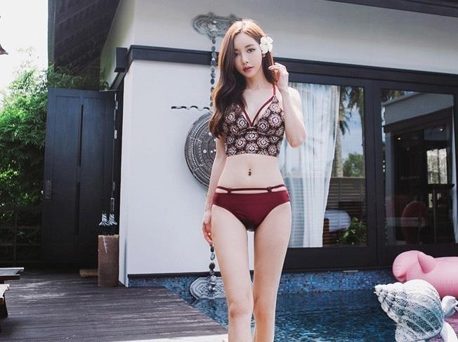 Bikini泳裝╭☆°玩嗨長灘*韓版網紅性感比基尼泳裝度假必備泳衣溫泉游泳衣,特價750元