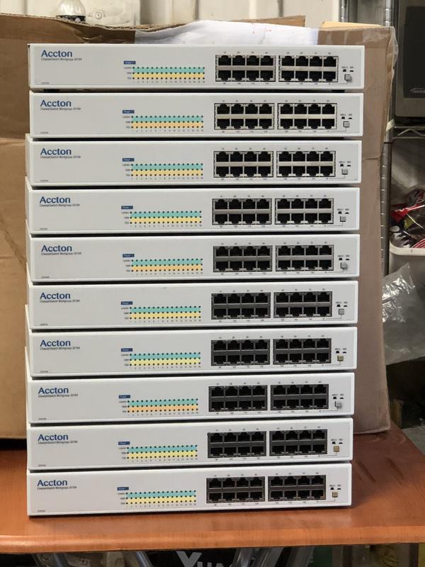 <二手品>Accton ES3016A 16埠10/100M  高速網路 交換式 集線器 路由器 分享器