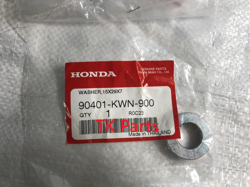 HONDA 2018 VARIO150 普利盤固定螺帽墊片 90401-KWN-900