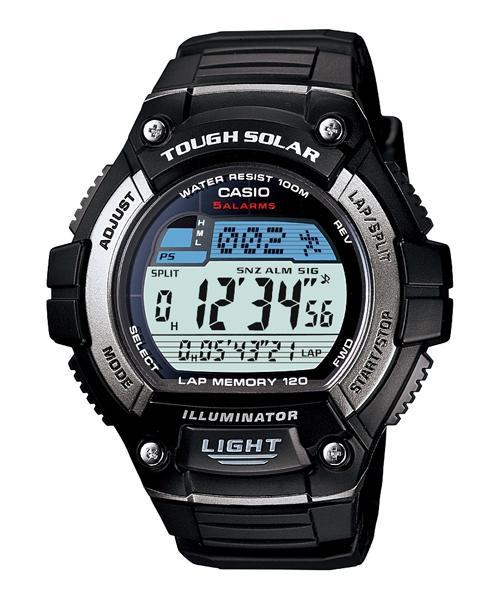 competitive price dbccf 6a365 【宏崑時計】CASIO 太陽能錶款 W-S220-1A LED照明燈 附卡西歐保固卡及發票
