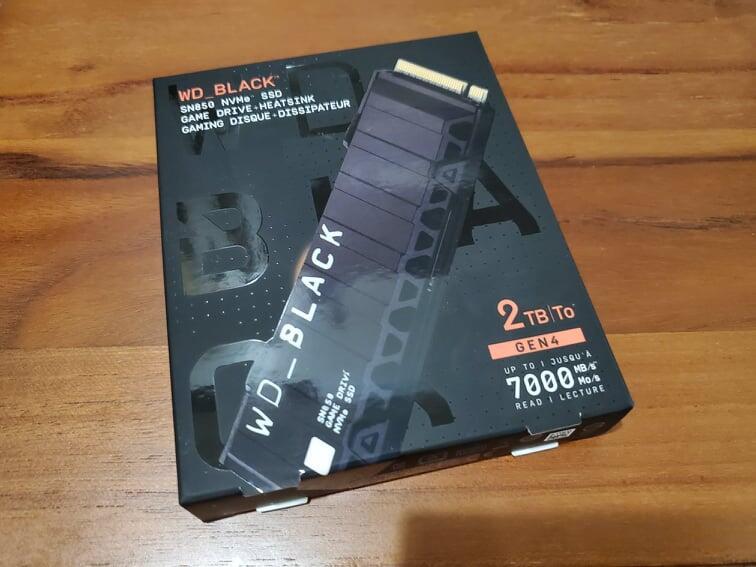 魚丸小舖~ WD SN850 2TB 附散熱片(PS5可用/待官方韌體更新)