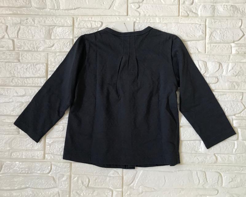 【全新現貨】愛的世界IKKS海軍藍薄款小外套、尺寸:2