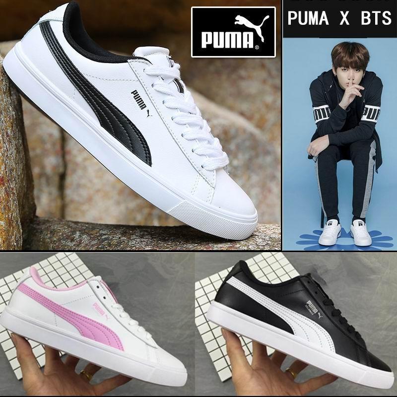 2018 Puma\彪馬 Court Star 防彈少年團代言款BTS X 休閒板鞋