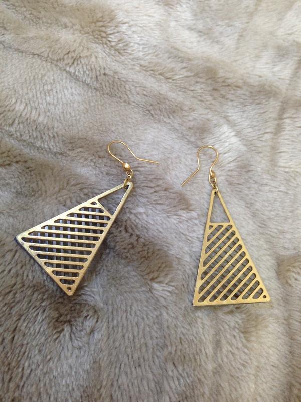 金字塔耳環