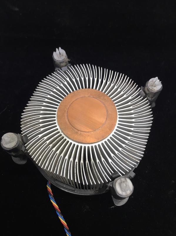 【RU阿佑】INTEL/ASUS 原廠1366腳位 銅底風扇 二手良品 厚型(隨機出貨)