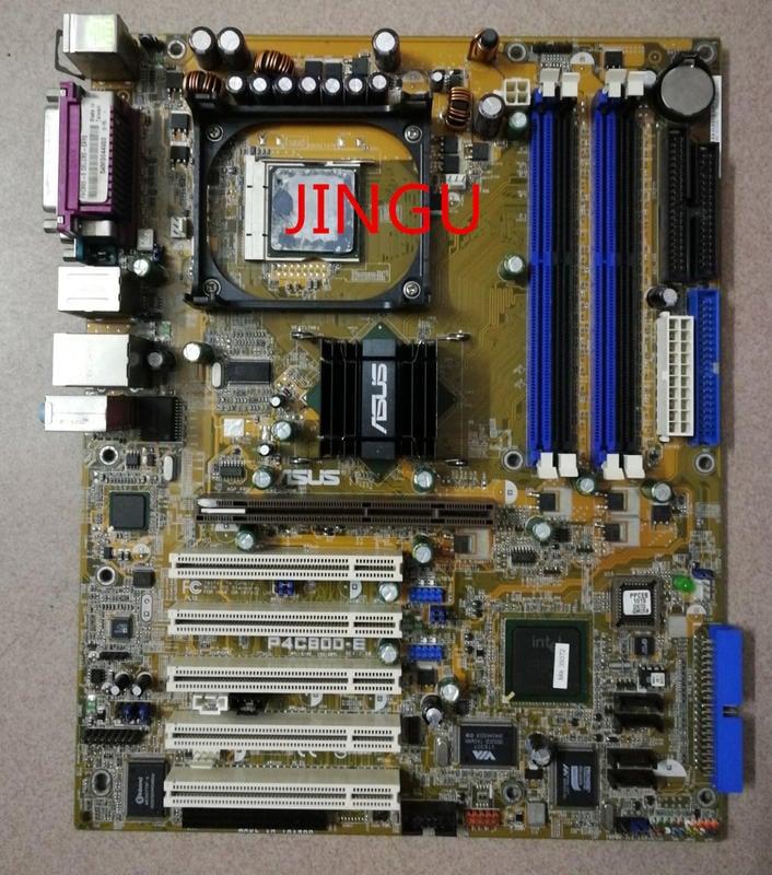 詢價:華碩 P4C800-E Deluxe 875P 帶磁碟陣列,豪華大板