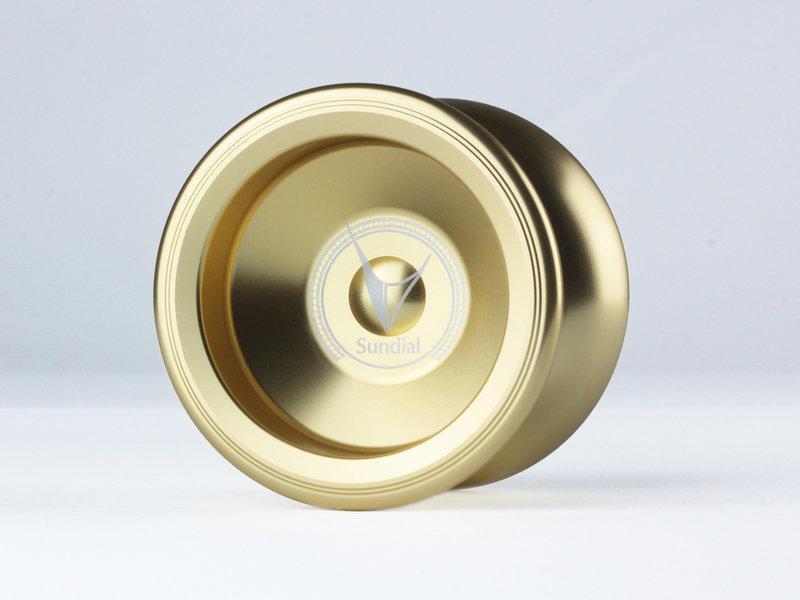 Sundial 日晷 金黃色 競技專用 競技 初學 教學 教材 國產 全金屬 航太金屬 溜溜球 奇妙 yo-yo