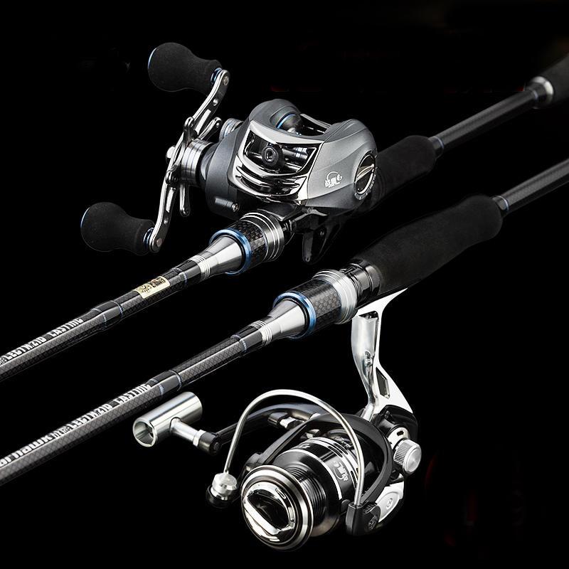戰鷹路亞竿套裝直柄紡車輪槍柄水滴輪三桿稍遠投竿海竿碳素釣魚竿