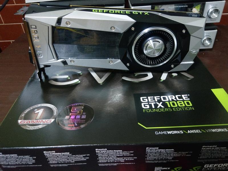 GTX1080 創始版 1080ti 980ti X299 Z270 Z370 參考