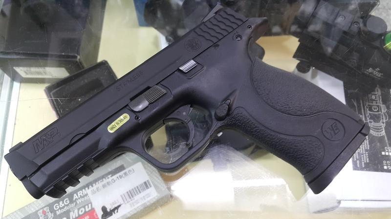 五0兵工 M&P 9 瓦斯手槍,黑色,smith & wesson 大嘴鳥