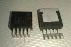 [二手拆機][含稅]原裝 AT1796-33A 1796-3.3 穩壓器 貼片TO-263