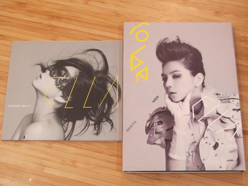 《啟元唱片》陳嘉樺 ELLA 我就是 首張個人EP  [+預購EP] 長條版有紙盒 CD良好,預購EP明顯細紋