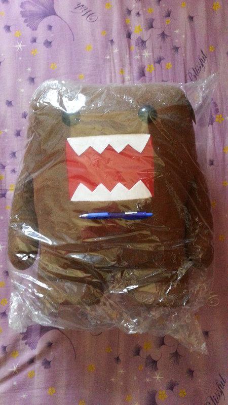 多摩君啊DOMO布偶18吋(全新-原價880元-但外袋比較舊了-能接受者再下標呀!謝謝!)