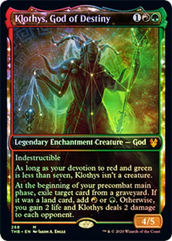 [ALG卡牌專門] THB Foil Klothys, God of Destiny 閃 命運神克洛緹絲 英/中文 異圖