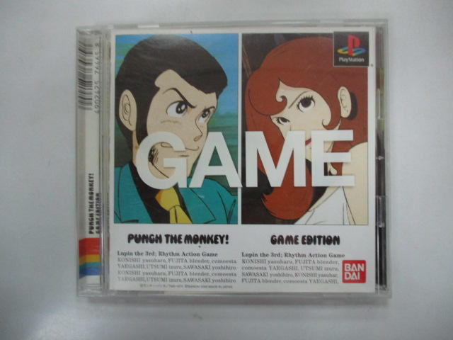 PS 日版 GAME 魯邦三世 PUNCH THE MONKEY!GAME EDITION(41120088)