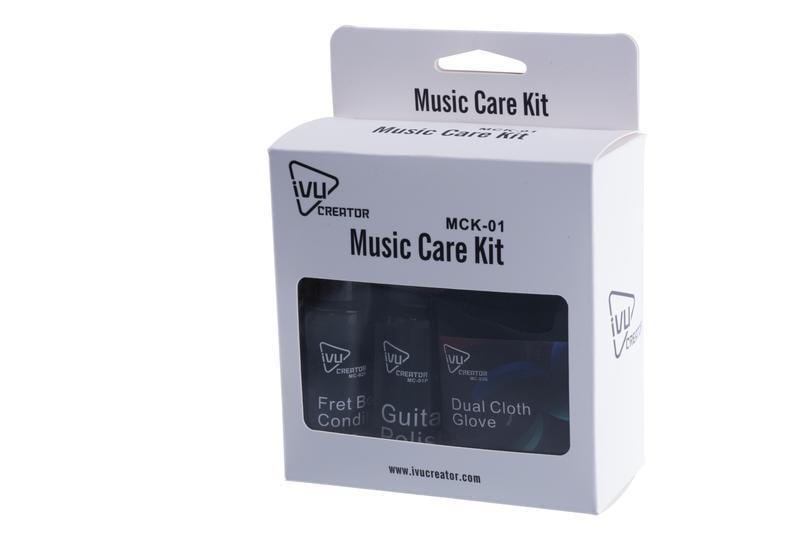 【成功樂器 . 音響】IVU CREATOR 樂器護理套組 MCK-01 電吉他 民謠吉他 電貝斯 BASS 適用