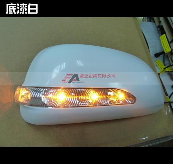 適用於 TOYOTA RAV4 2009-2012後視鏡LED燈蓋燈殼