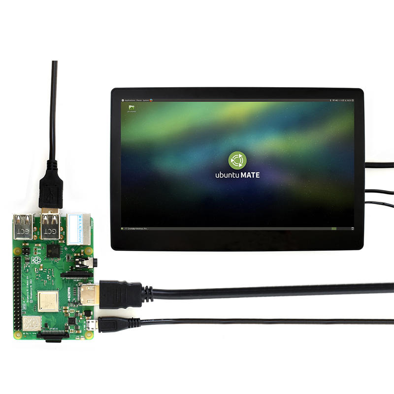 『樹莓派Raspberry pi』微雪 树莓派 11.6寸 LCD屏幕 显示器 电容液晶屏1080P