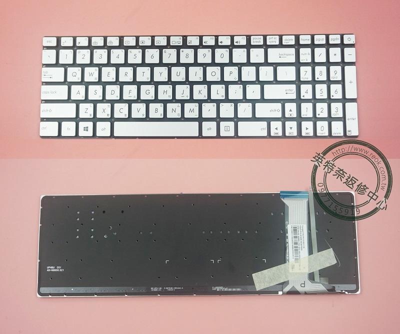 ☆REOK☆ 全新 華碩 ASUS GL551 GL551JM GL552V GL552VW G551 繁體中文背光鍵盤