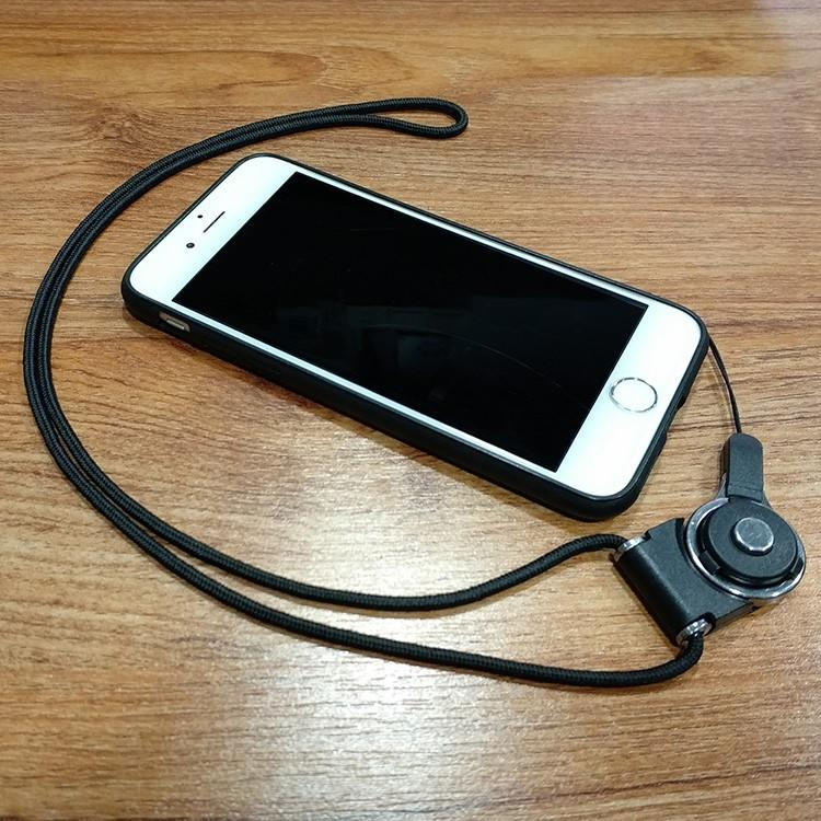 【開心買場】可愛卡通/藍胖子/叮當貓蘋果iPhone8/7plus掛繩手機殼6s軟殼硅膠X