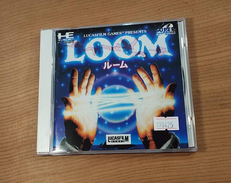 便宜賣!PC-E CD日版遊戲- LOOM(7-11取貨付款)