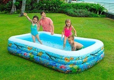 家庭號充氣游泳池
