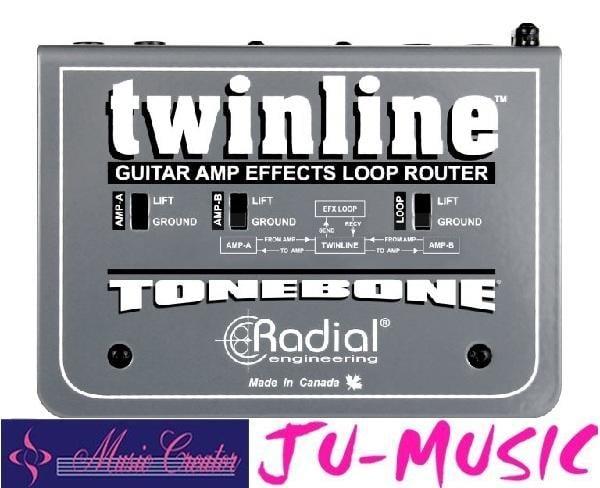 造韻樂器音響- JU-MUSIC - Radial TWINLINE 效果循環界面 DI 『公司貨,免運費』