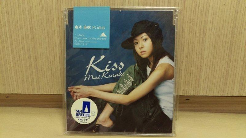 日本原版 倉木麻衣 單曲 Kiss 全新品