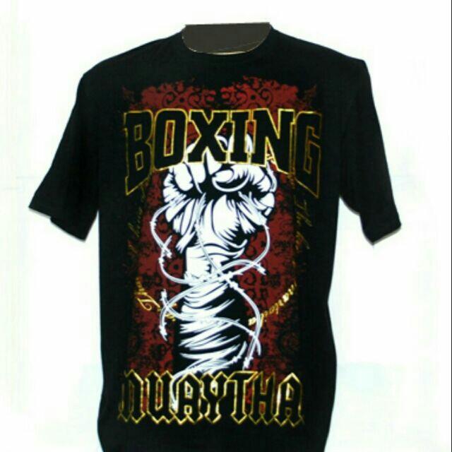 【大帥格鬥】BOXING 拳擊手 短袖衣服  純棉材質 現貨尺寸: M L XL