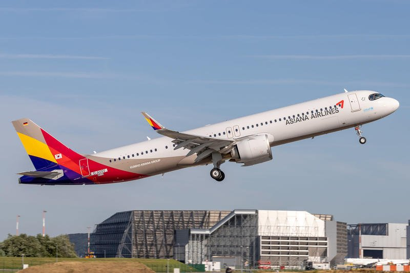 JC Wings 韓亞航空 Asiana Airlines A321NEO HL8364 1:400