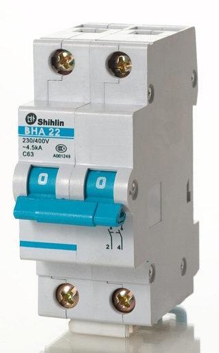 士林 小型斷路器 無熔絲開關 小型迴路保護器  BHA33 BHA32 BHA31 BHA 3P50A