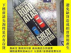 古文物PRACTICAL罕見ROAD ATLAS GREAT BRITAIN 英國實用道路地圖集 (01)露天18089