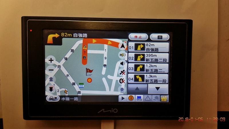最新測試     GPS 衛星導航  Mio N179     C330同款  5v電源 機車  轎車   導行
