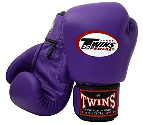 【大帥格鬥】TWINS 拳擊手套 泰拳真皮 雙色系列 粉紅白色10oz