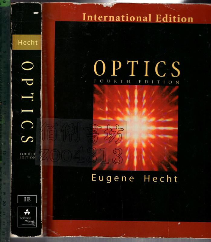 佰俐O《OPTICS 4E》2002-Hecht-0321188780
