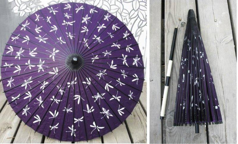 【紙傘小舖】二截可拆式日本舞用之舞傘,紙傘~(3把免運,6把650/把)