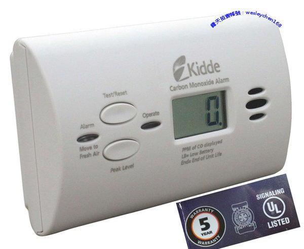 代購 一氧化碳 偵測器  Kidde美國(電池) 小套房  面板濃度顯示 Kidde KN-COPP-LPM