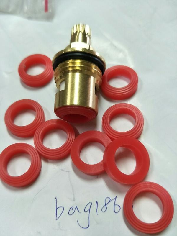 現貨 -紅色墊片  用於 本賣場連結網址那顆陶瓷閥芯/下標注意.其他廠規格或是48mm不合用