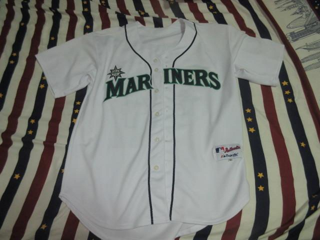 MLB水手隊 小葛瑞菲 ken griffey jr 球迷版棒球衣