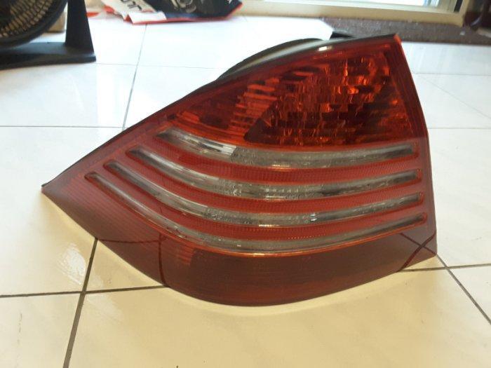 benz w220 s320 99-made in taiwan四線白led後燈總成>>>(方程式國際)