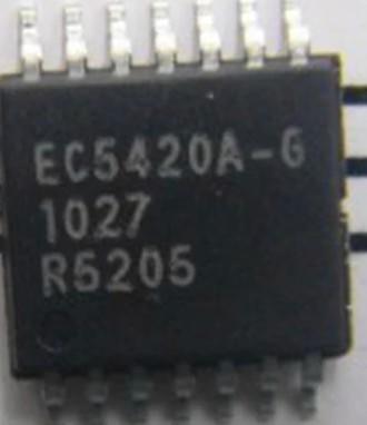 [二手拆機][含稅]EC5420A-G 液晶屏電源晶片 TSOP-16