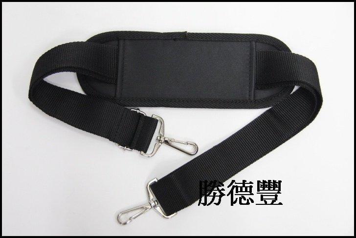 勝德豐【台灣製造】斜背帶 、側背帶(適用公事包、旅行袋、電腦包、休閒包)黑色