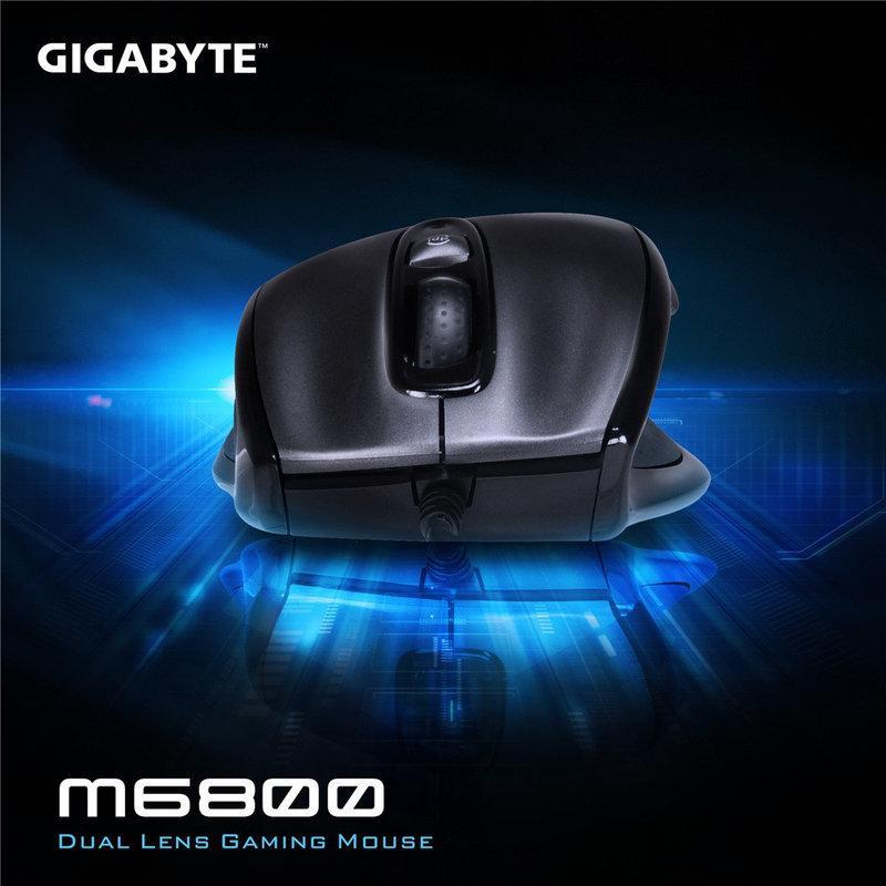 技嘉 GM-M6800 可變速電競專用鼠 可切 800dpi  ~1600dpi 類雷射技術 精準滑鼠 ┐429號
